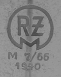 1936-1942: RZM M7/66 SA code assigned to Carl Eickhor